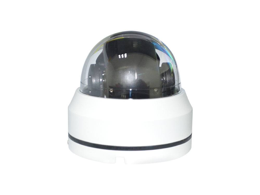Dome PTZ Surveillance Camera 30m IR Distance 3pcs Array LED