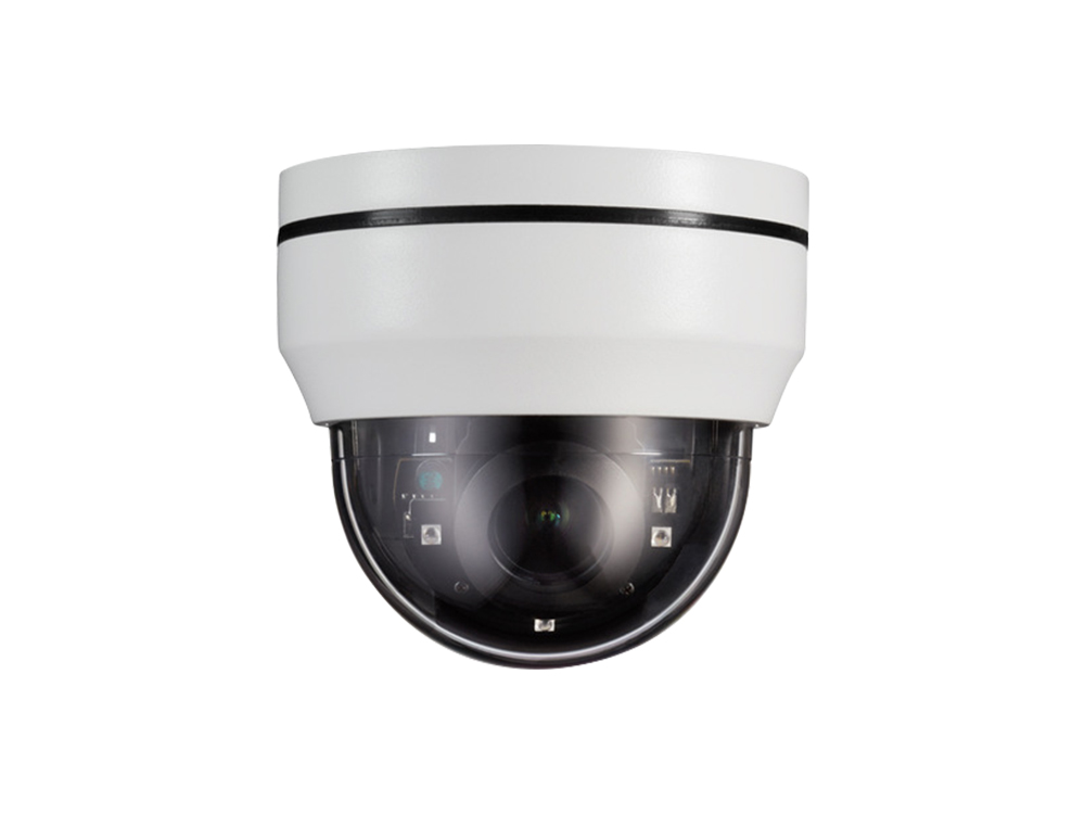 10xZoom 4.9-49mm Pan/Tilt Dome PTZ IP Camera