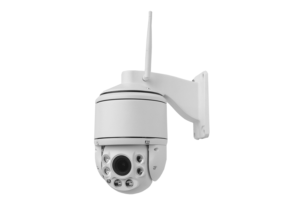 High Speed Dome Outdoor PTZ Wifi Surveillance Camera 6PCS Laser Leds