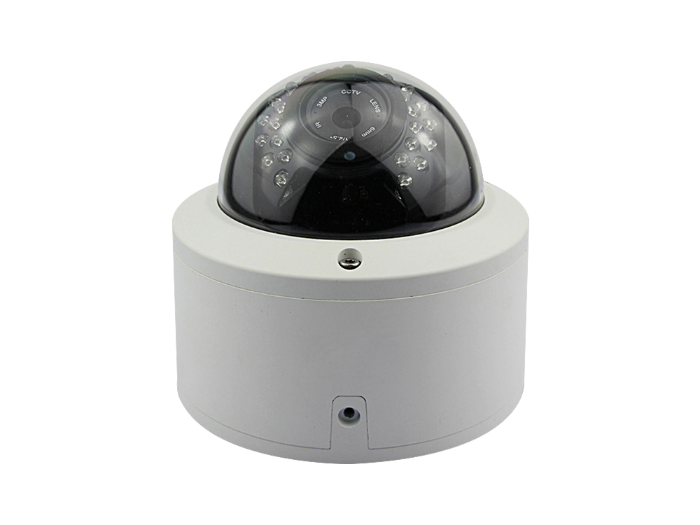 1080P Vandal Proof IP Camera Good IR Night Vision