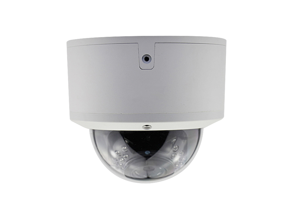 H.265 Dome IP Camera Vandal Proof Housing Varifocus 2.8-12mm Lens