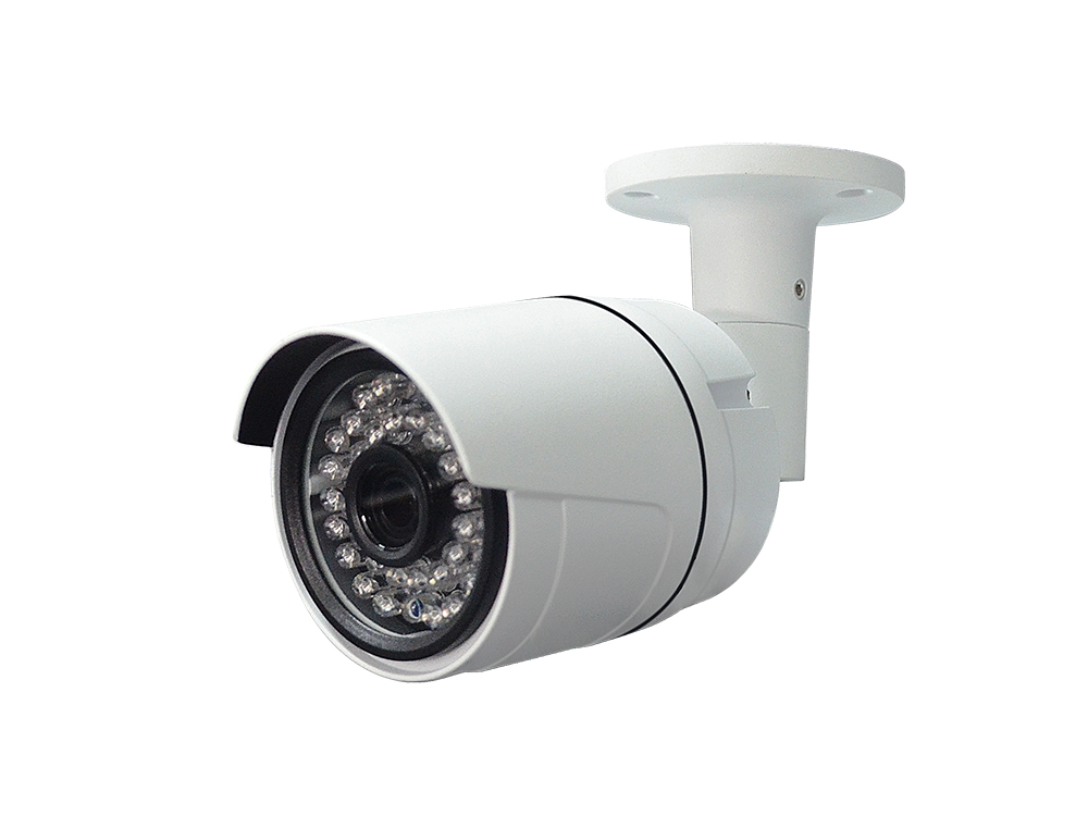 2.8mm Or 3.6mm Fixed Lens 36PCS IR LED HD IP Camera