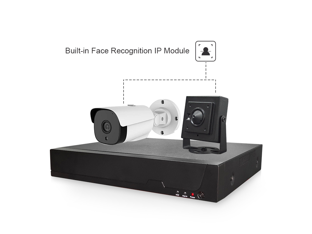 New Arrival Artificial Intelligent Smart IP System 1080p Face Recognition IP Sys